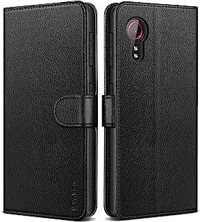 Vakoo Coque Samsung Galaxy Xcover 5, Housse de Protection à Rabat en Cuir pour Samsung Xcover 5 Etui avec Protection RFID...