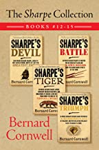 The Sharpe Collection: Books #12-15: Sharpe's Devil, Sharpe's Battle, Sharpe's Tiger, and Sharpe's Triumph (English Edition)
