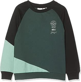 NAME IT Baby-Jungen Nmmolai Ls Sweat Bru Box Sweatshirt