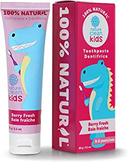 Nature Clean Kids Toothpaste, Berry Fresh, 2.1 Fluid Ounce