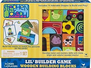 Stephen Joseph Wood Blocks Building Game