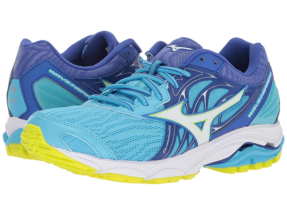Mizuno Wave Inspire 14 (Cobalt/White) Girls Shoes