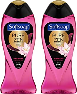 Softsoap Relaxing Body Wash - Pure Zen - Rosewater & Lotus Flower - Net Wt.