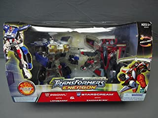 Transformers Energon Prowl w/ Longarm & Starscream w/ Zapmaster Sam's Club Exclusive