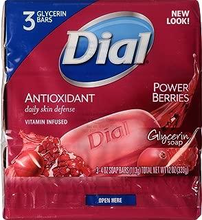 Dial Skin Care Bar Soap, Power Berries, 4 Ounce, 54 Bars