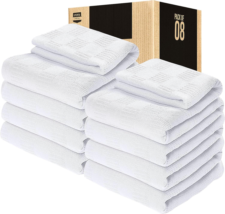 Utopia Bedding Award trend rank Woven Cotton Blanket a Breathable - Throw