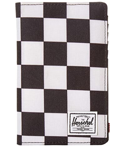 Herschel Supply Co. Search RFID (Checker Black/White/Black) Wallet Handbags