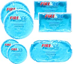 Snappy Heat® Hot Cold Gel Packs-7 Reusable Packs In 4 Sizes for Multiple Applications – Muscle & Joint Pain, Sinus Relief, First Aid for Injuries, Tired Eyes, Child Boo Boos, or Keeping Lunches Cool
