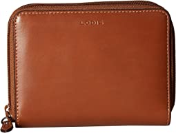 Lodis Accessories - Audrey RFID Laney Continental Double Zip Wallet