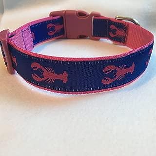 Lobster Dog Collar, Puppy Collar, Custom Dog Collar, Personalized Dog Collar, Preppy Collar, Nautical Dog Collar