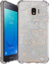 Sponsored Ad - Shockproof Slim Hybrid Case w/Air-Pocket Corners+Easy Grip Bumpers Cover Compatible with Samsung Galaxy J2 ...