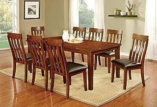 Furniture of America Harcourt Dining Set, Cherry