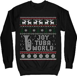 Joy Tuba World Funny Christmas Ugly Sweater Shirt - Noel Merry Xmas Sweatshirt