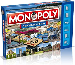 Winning Moves Monopoly Christchurch Board Game