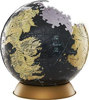 "4D Cityscape, Rompecabezas Game of Thrones 3D Globe 6"", 240 Piezas"
