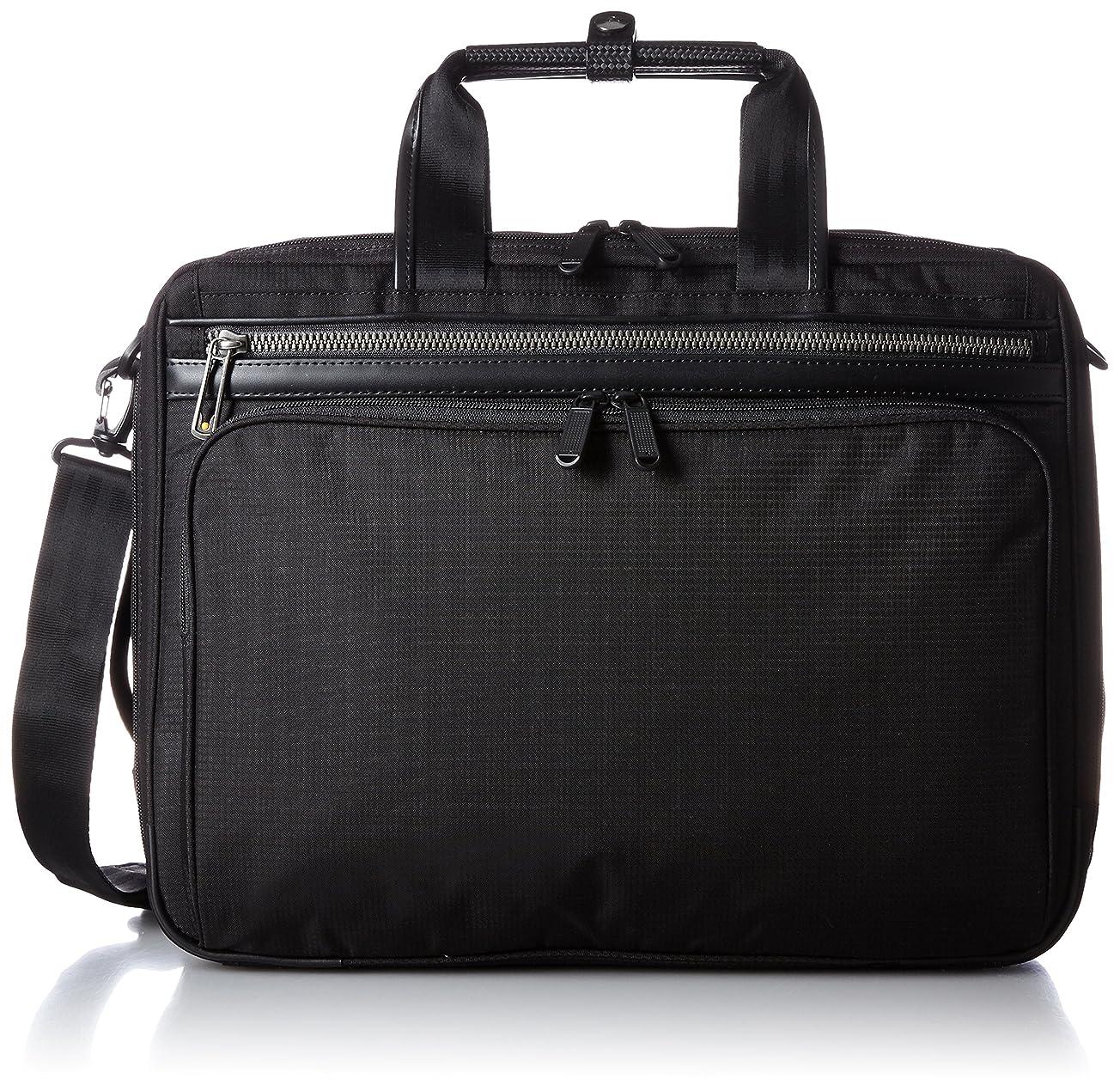 スクラップブックタイピスト保安[エースジーン] ace.GENE 軽量ビジネスバッグ フレックスライト フィット 40cm A4サイズ 2気室 PC収納 エキスパンダブル