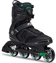 K2 Skate Men's F.I.T. 80 Boa Inline Skate, Black Green
