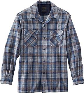Men's Long Sleeve Classic Fit Board Wool Shirt