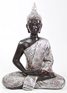 silver buddha statues for sale