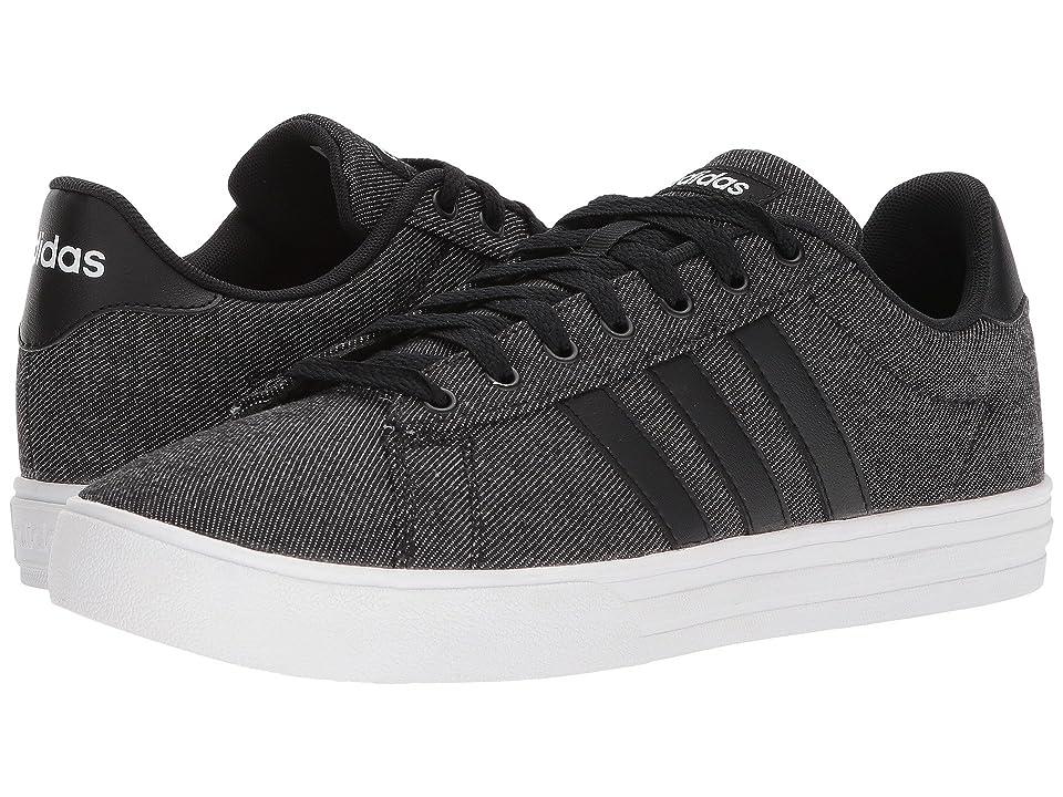 adidas Daily 2.0 (Black/Black/White) Men
