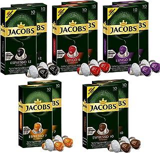 comprar comparacion Jacobs Aluminum Nespresso® * - Cápsulas de café compatibles - Paquete de 10 (100 porciones)