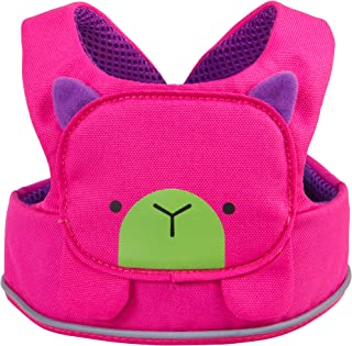 Trunki ToddlePak - Fuss Free Toddler Walking Reins & Kids Safety Harness – Betsy Bear (Pink)