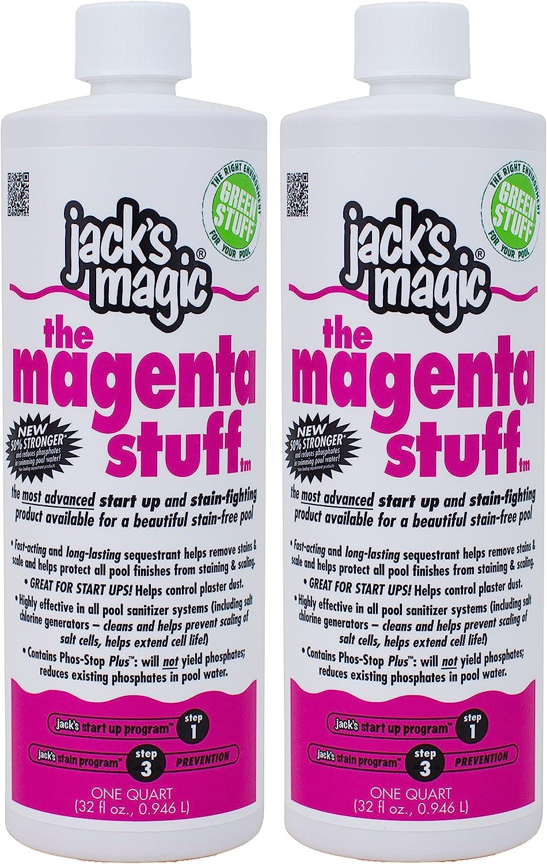 Jack's Max 60% OFF Magic The Magenta Stuff 1 Portland Mall Pack 2 qt