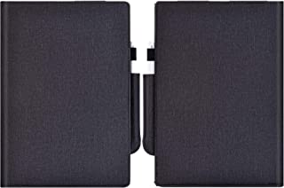 KuRoKo Premium PU Leather Case Cover with Hand Strap, Pen Holder for Remarkable Digital Paper (New Black)