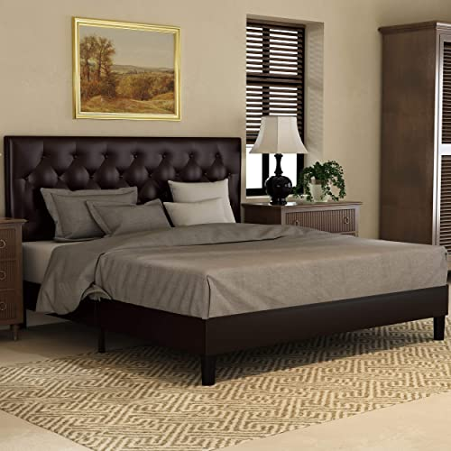 SHA CERLIN Full Bed Frame Platform Bed