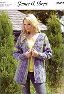 Best jacket knitting patterns chunky Reviews