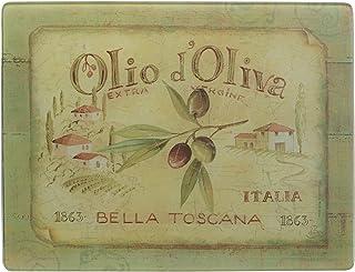Creative Tops Olio d Oliva - Glass Work Top Saver - Chopping Board