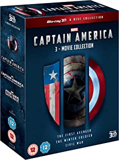 Captain America: 3-Movie Collection Region Free UK
