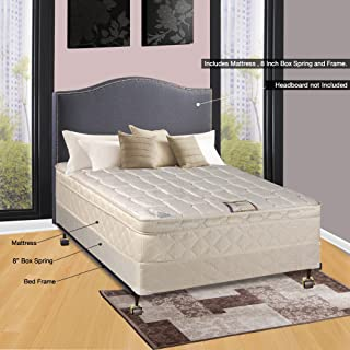 Continental Sleep Plush Mattress, Twin XL, Size