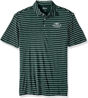 NCAA Wright State Raiders Men's Turner Classic Stripe Polo Shirt, X-Large, Hunter