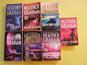 7 Book Set By Heather Graham (Nightwalker, Death Dealer, the Dead Room, Picture Me Dead, Hurricane Bay, Ghost Night, the P...