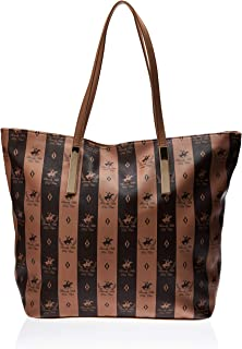 BHPC Womens Tote Bag, TAN - BHVCS1441
