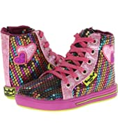 Western Chief Kids - Rainbow Glitz Hi-Top (Toddler/Little Kid)