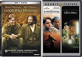 The Shawshank Redemption / The Green Mile Stephen King & Good Will Hunting Set [DVD] Bundle Triple Feature Movie Set