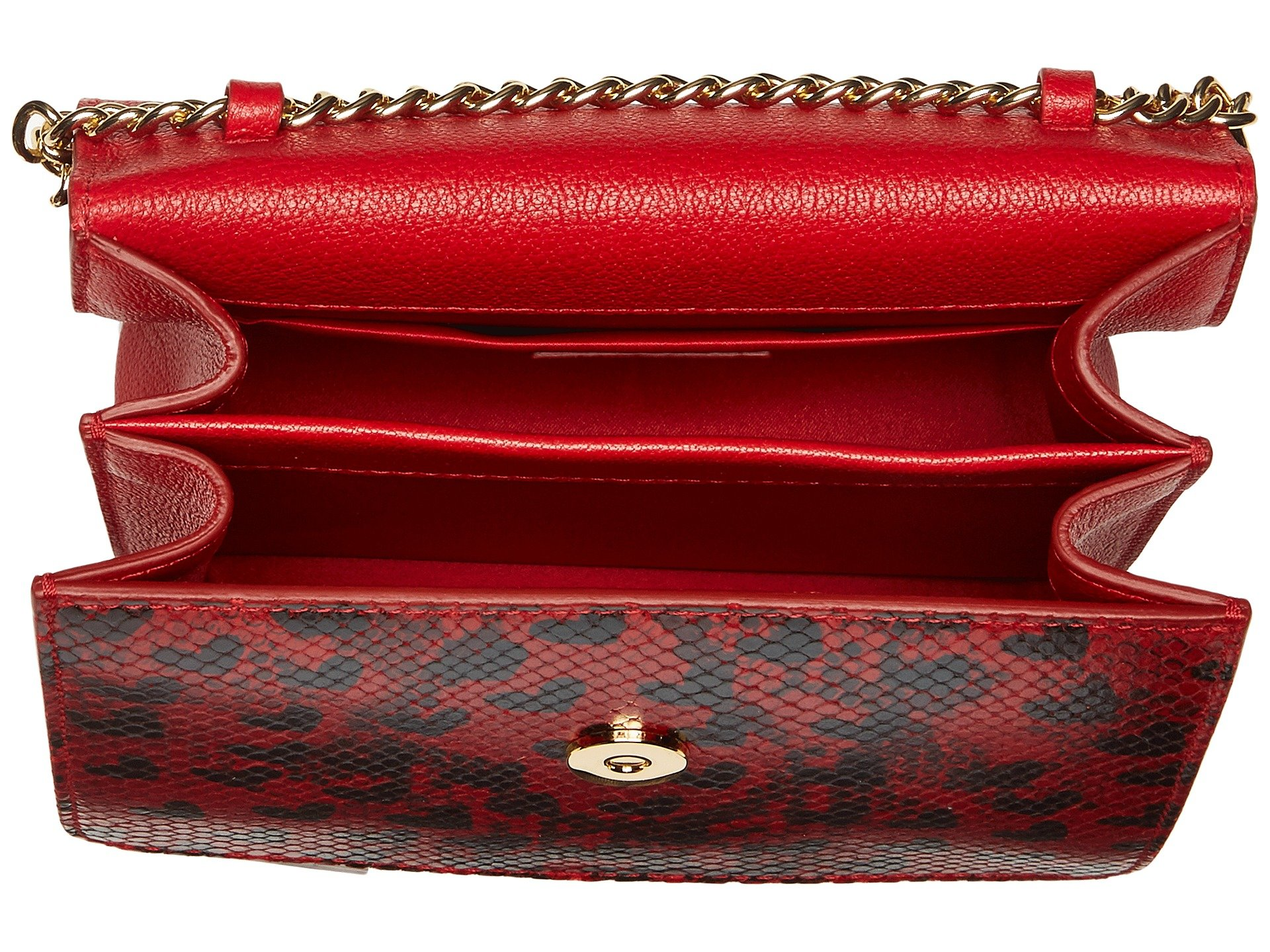 Boutique Moschino Python And Hearts Print Shoulder Bag At 6pm