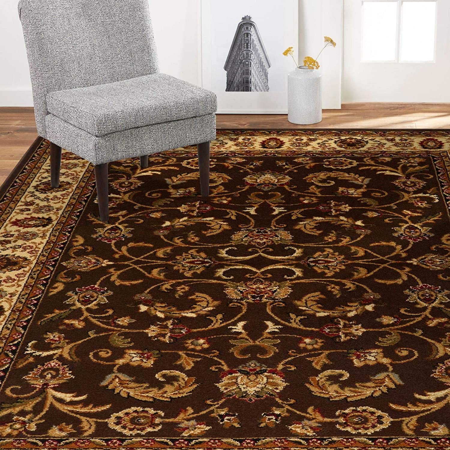Home Dynamix Royalty Max 62% OFF Elati Traditional store Orie Area Rug 7'8