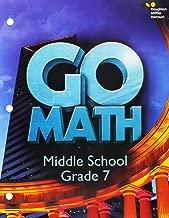 Go Math! (StA): Student Interactive Worktext Grade 7 2016