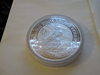 1992 , 1 Kilo , Silver Proof Australian Kookaburra, .999 Silver Coin