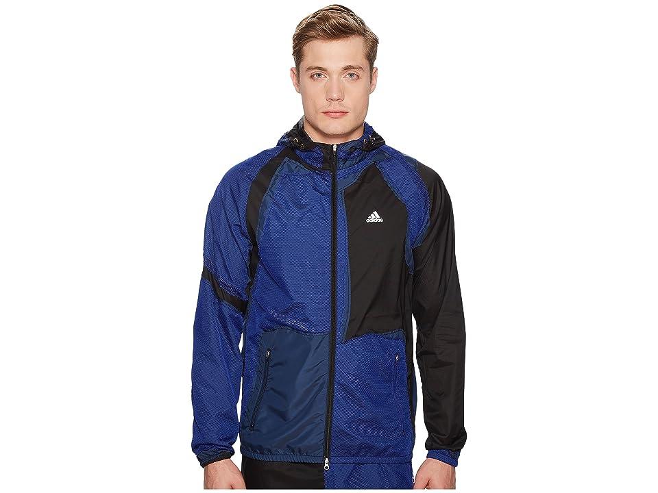 Image of adidas x Kolor Decon Wind Jacket (Black) Men's Coat
