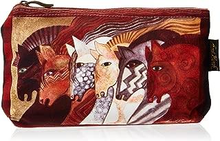Laurel Burch Cosmetic Bag, Moroccan Mares, Set of 3
