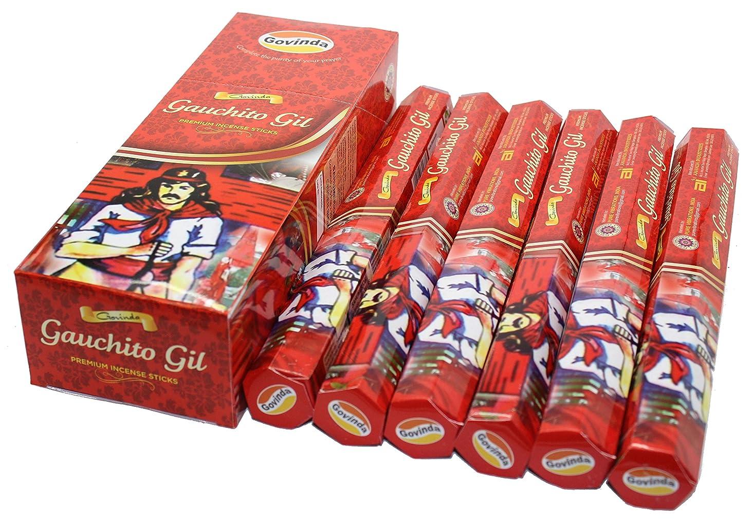 ファイナンス避難する解体するGovinda ? Incense?–?Gauchito Gil?–?120?Incense Sticks、プレミアムIncense、Masalaコーティング