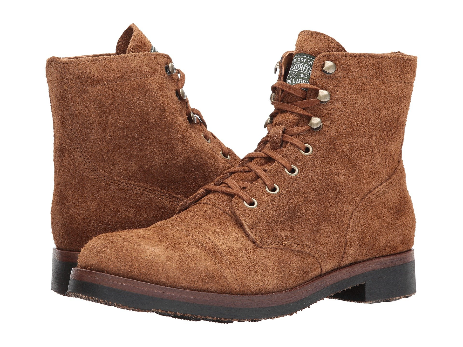 2eddbcec919 Men s Polo Ralph Lauren Lace Up Boots + FREE SHIPPING