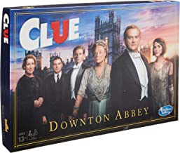 Hasbro Gaming Clue: Downton Abbey Edition Board Game for Kids Ages 13 & Up, Inspired by Downton Abbey