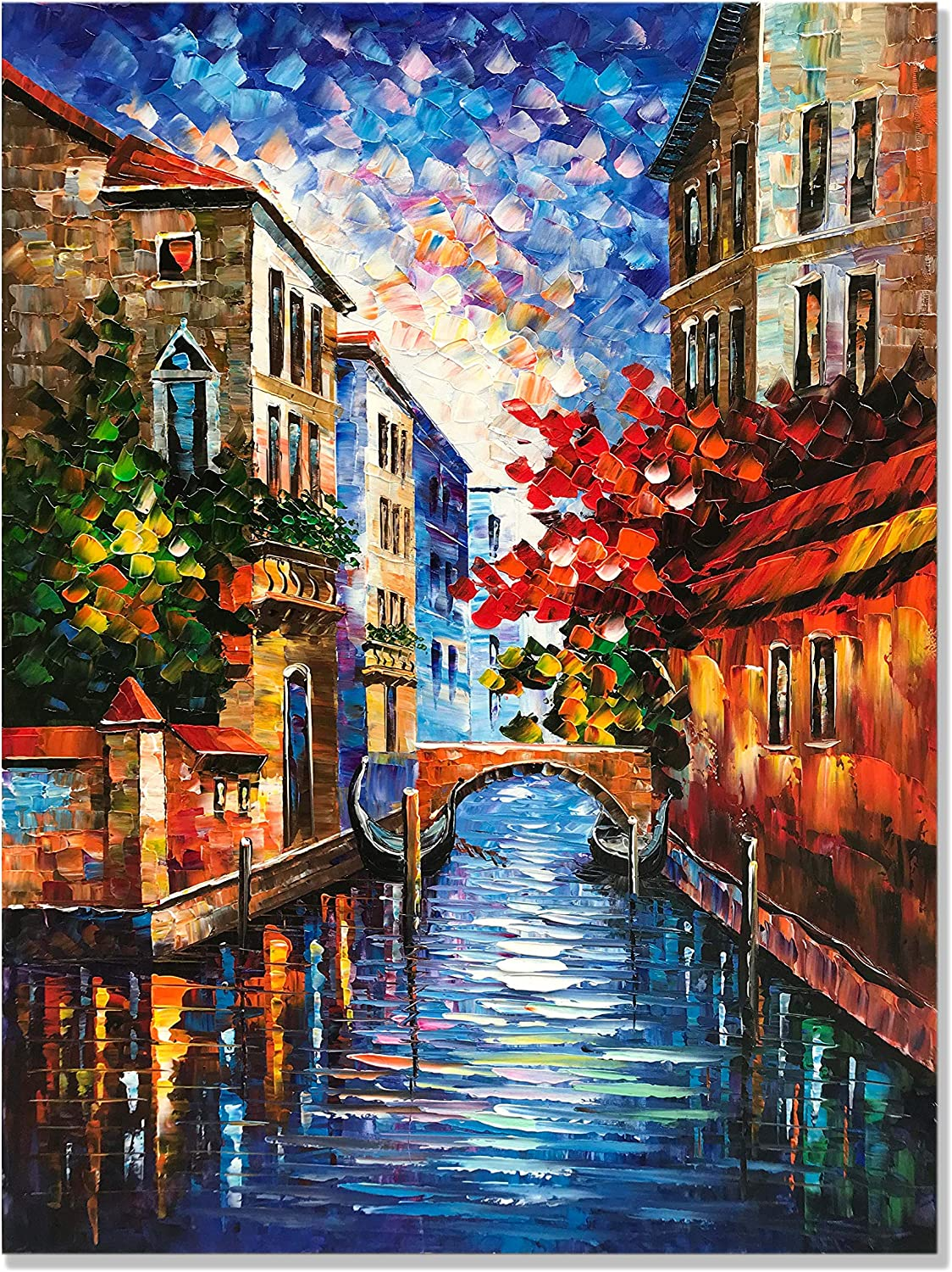zoinart Venice Fresno Mall Nippon regular agency City Landscape Large Abstract Wa Paintings Canvas