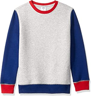 Amazon Essentials Boys' Crewneck Sweatshirt