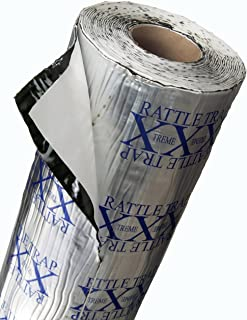 FatMat Self-Adhesive RattleTrap Sound Deadener Bulk Pack with Install Kit - 75 Sq Ft